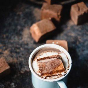 Chocolate Mint Marshmallows   StupidEasyPaleo.com