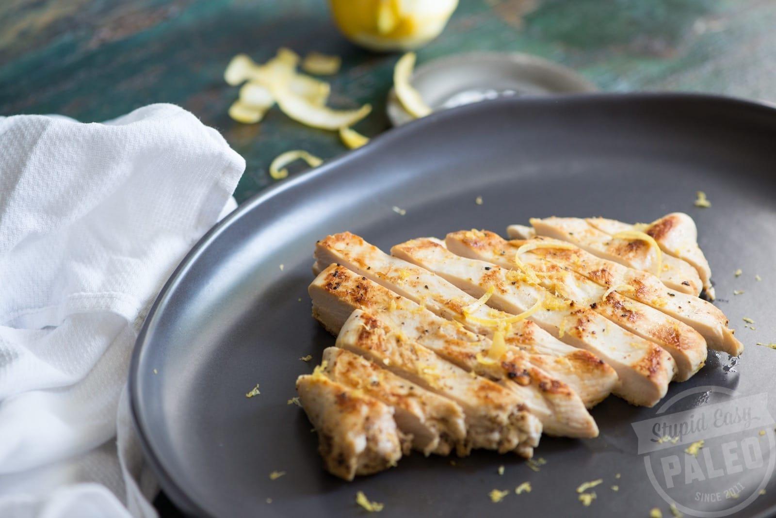 Easy-Pan Fried Lemon Chicken | StupidEasyPaleo.com
