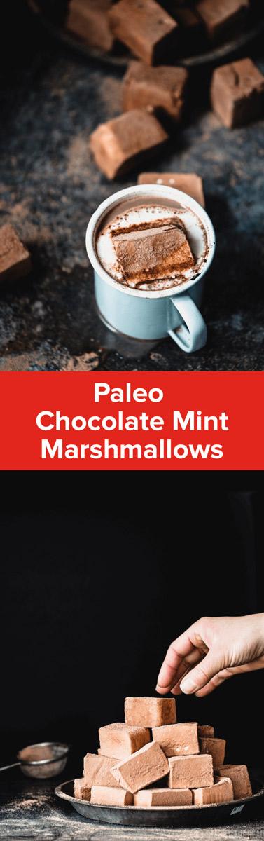 Chocolate Mint Marshmallows | StupidEasyPaleo.com