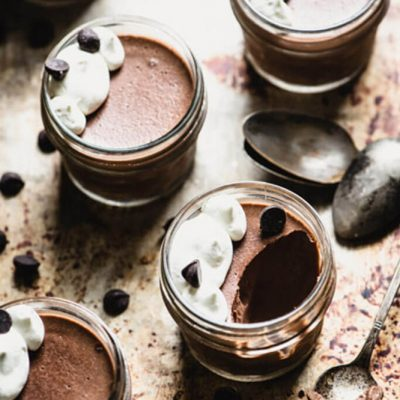 You're not gonna believe how easy this Paleo Chocolate Pudding recipe is...just 4 ingredients for this lip-smacking dairy-free treat. | StupidEasyPaleo.com