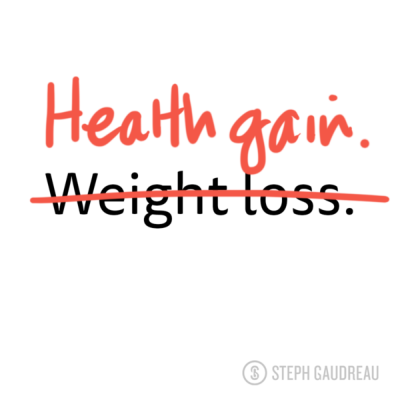 Instead of Weight Loss, Focus on This | StupidEasyPaleo