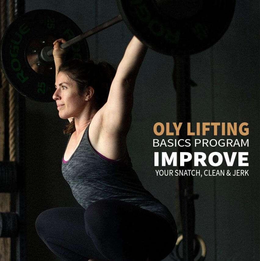 Oly Lifting Basics Program