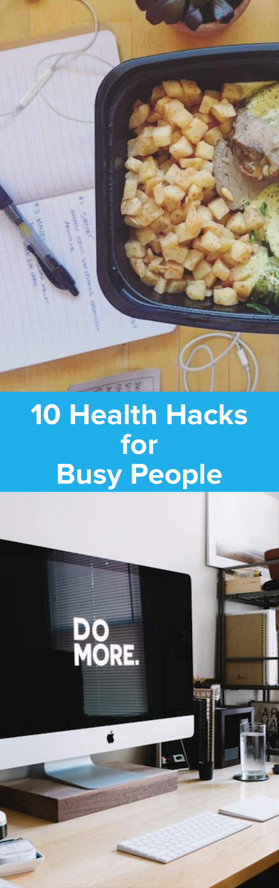 10 Healthy Hacks for Busy People | StupidEasyPaleo.com