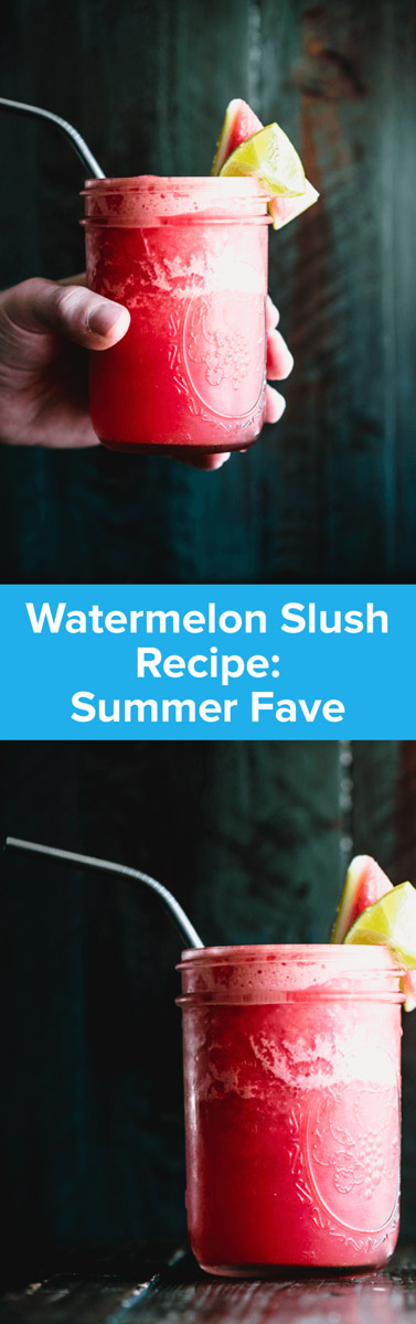 Watermelon slush quickly became my drink of choice because it was so refreshing. When I got home, I knew I had to make it! | StupidEasyPaleo.com