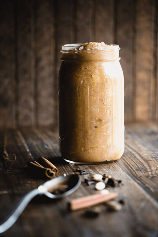 See how simple it is to make this fall-inspired, cinnamon-spiked Easy Instant Pot Applesauce with a just a few basic seasonal ingredients. | StupidEasyPaleo.com