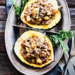 Paleo Stuffed Acorn Squash has all the flavors of fall. It's paleo, grain- and gluten-free, and Whole30 friendly. So delish! | StupidEasyPaleo.com