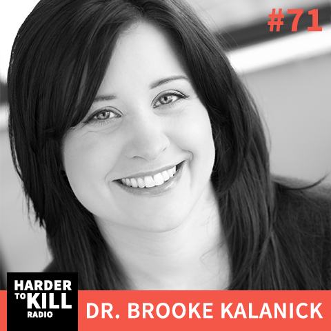 Get hormone help in this episode of Harder to Kill Radio with Dr. Brooke Kalanick. Struggling with cortisol, estrogen, or thyroid? Listen in! | StupidEasyPaleo.com