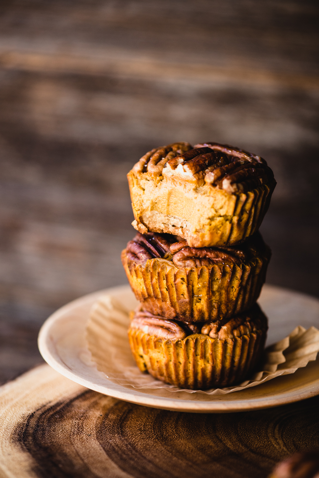 Mini Sweet Potato Pies are a perfect gluten-free dessert for your holiday feast. They're refined sugar-free, paleo, and dairy-free!   StupidEasyPaleo.com