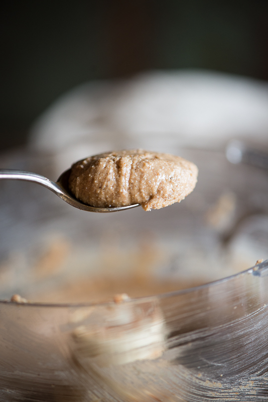 Gingerbread Cashew Butter is a simple homemade recipe for the holiday season. It's paleo and vegan, and comes together in just minutes. | StupidEasyPaleo.com