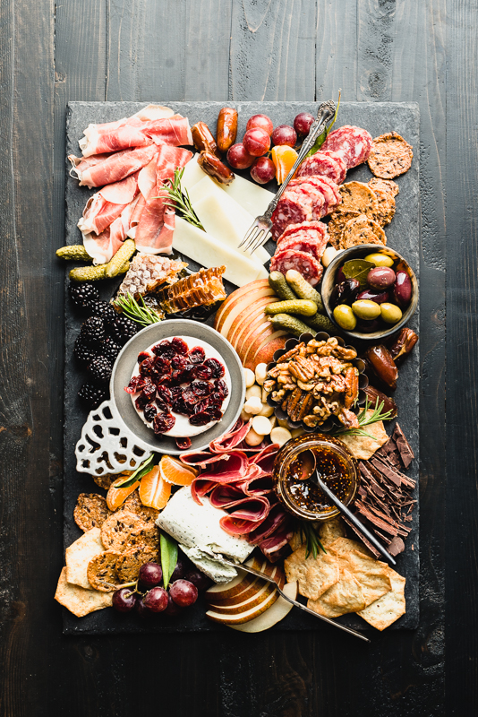 Wow everyone at your next party with the best ever Gluten-Free Charcuterie Board! Get my template and adjust to any needs including make it paleo-friendly or dairy-free. | StupidEasyPaleo.com