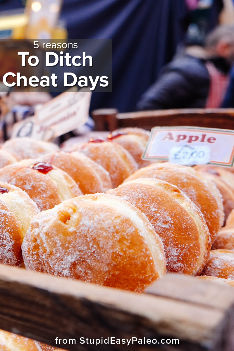 5 Reasons to Ditch Cheat Days | StupidEasyPaleo.com