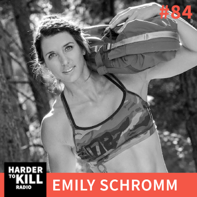 As a self-described meathead hippie, fitness powerhouse Emily Schromm is sharing what it means to embrace all aspects of strength in body, mind, and soul on this episode of Harder to Kill Radio | StupidEasyPaleo.com