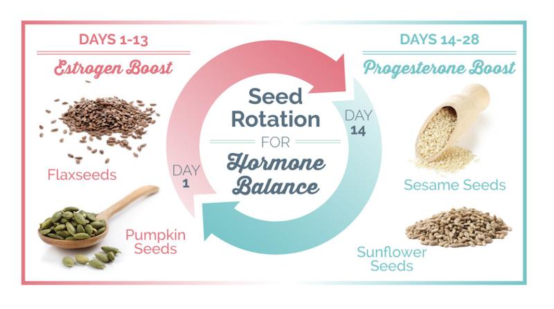 Seed Rotation for Hormone Balance