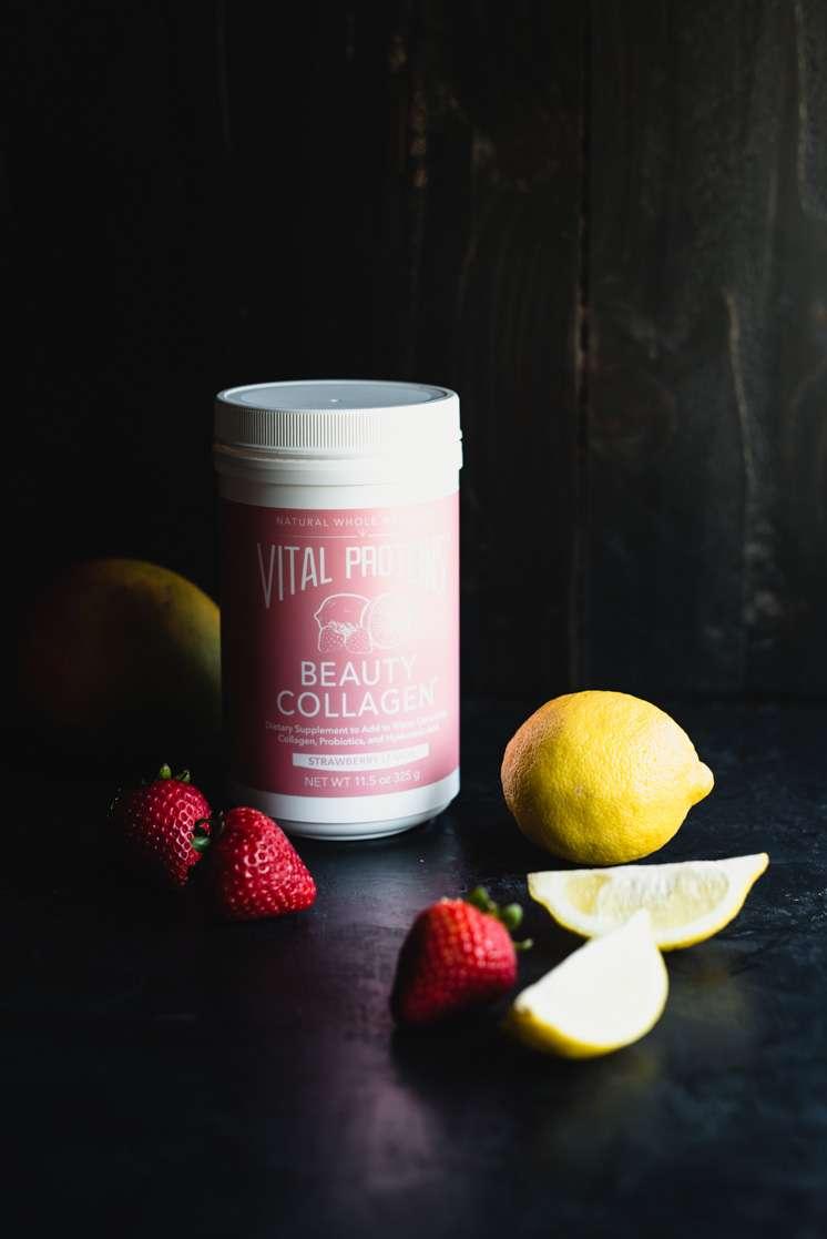 Strawberry Mango Sorbet (Dairy-Free, Paleo) | StupidEasyPaleo.com