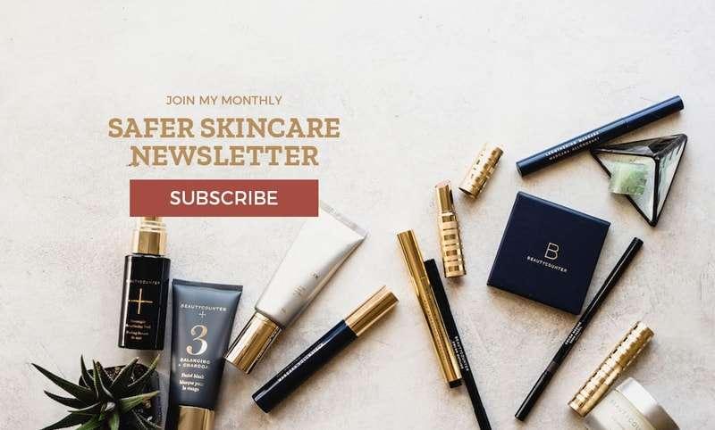 Safer Skincare Newsletter Signup