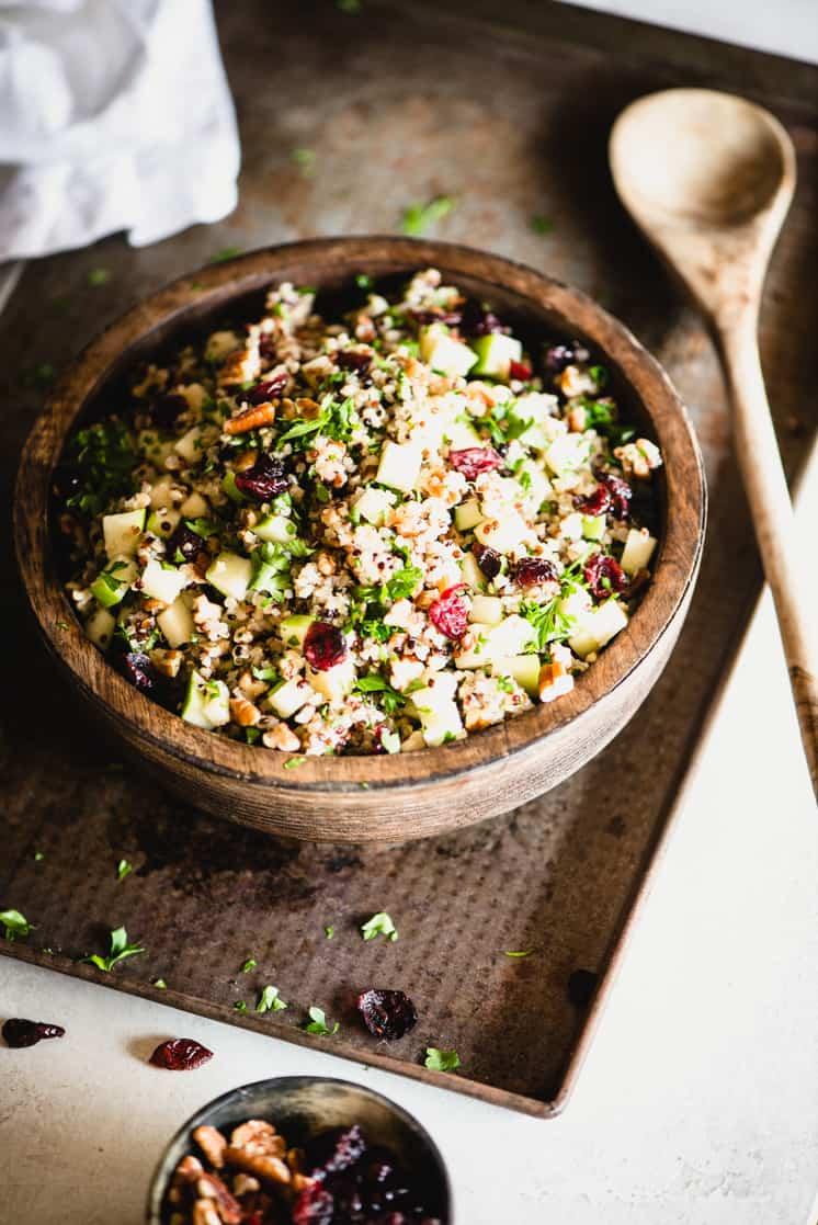 Fall Quinoa Salad (Gluten-Free)