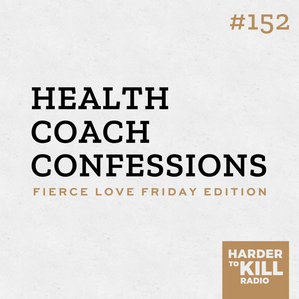 Today I'm getting into some of my own health coach confessions. It's easy for health and fitness experts to come across as perfect, but you'll learn why that's not the case in this episode of Fierce Love Friday. | StephGaudreau.com