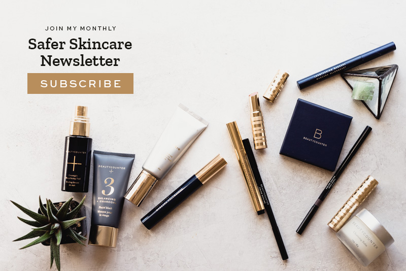 Beautycounter Safer Skincare Newsletter | StephGaudreau.com