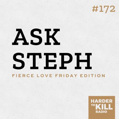 Today I'm answering listener and reader questions in my first ever edition of Ask Steph on the Fierce Love Friday edition of the podcast. | StephGaudreau.com