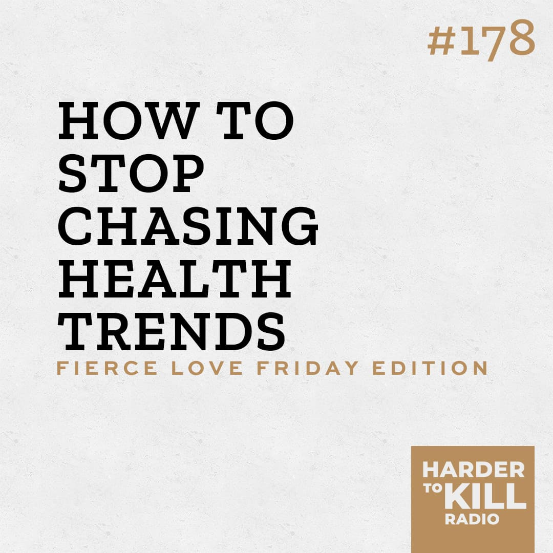 Chasing health trends is an exercise in futility. In this episode, I'm revealing the biggest question you need to ask when it comes to health trends. | StephGaudreau.com