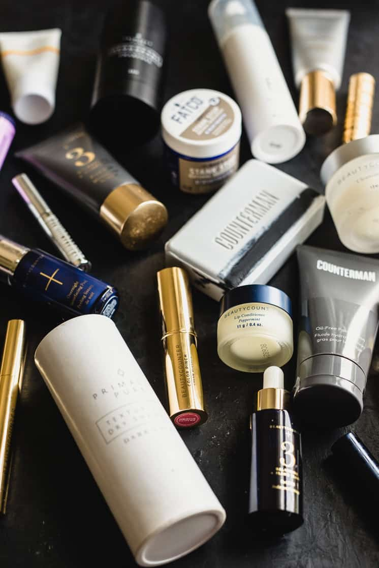 safer skincare and cleaner cosmetics containers