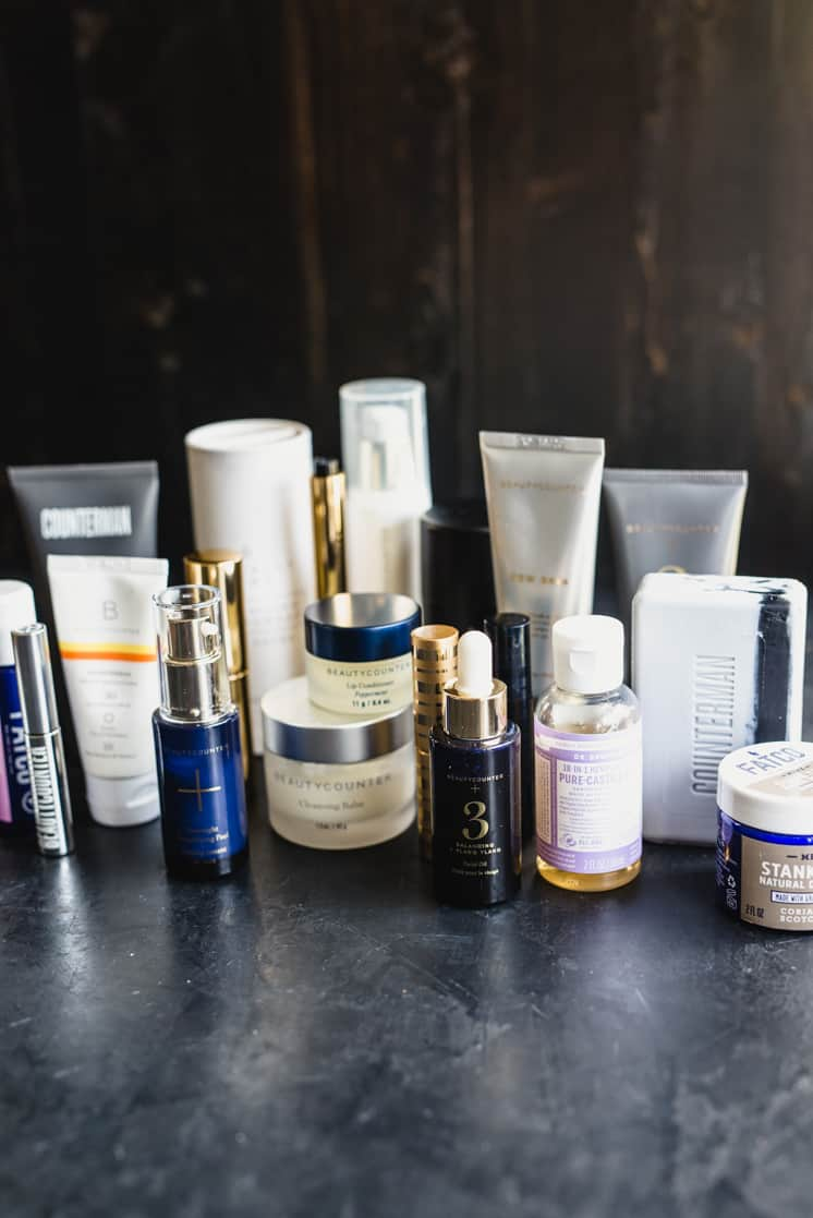various brands to consider when switching to safer skincare
