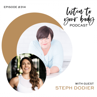 Listen To Your Body podcast 314 How To Start off the New Year With Goals That Don't Involve Weight Loss w: Steph Dodier