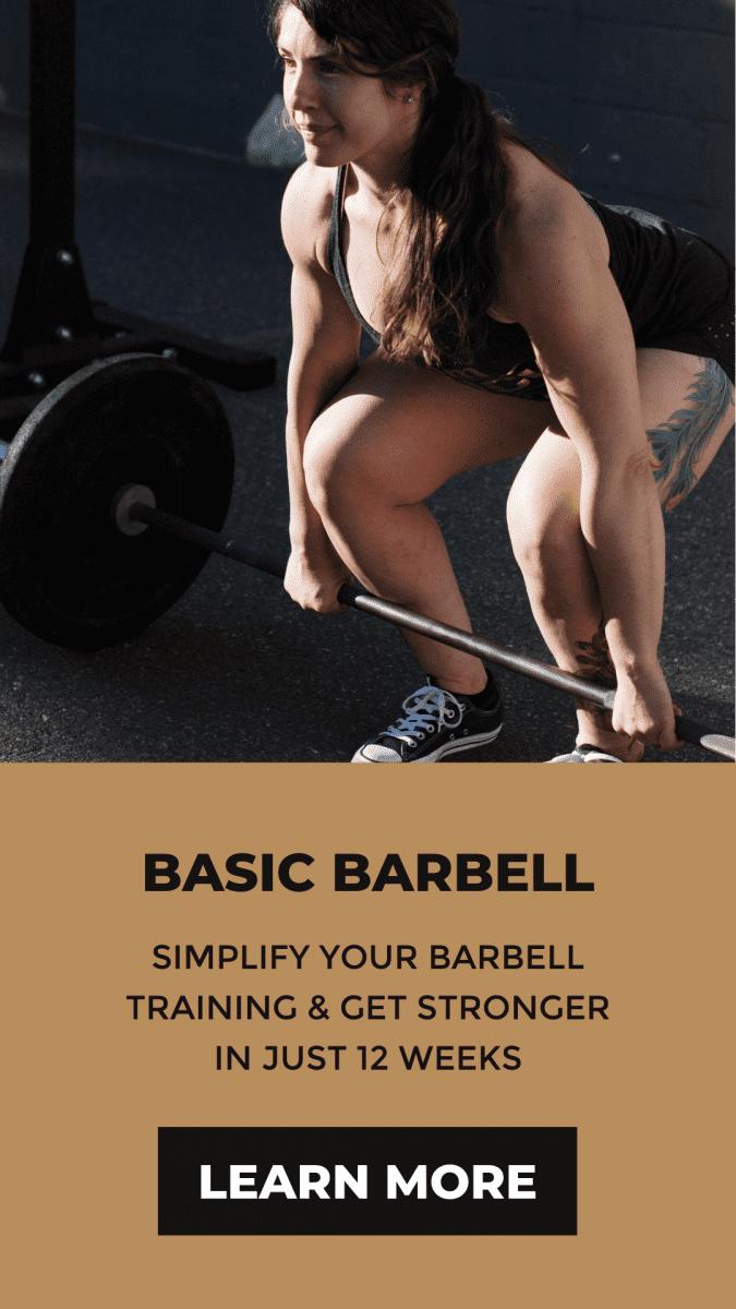 basic barbell program